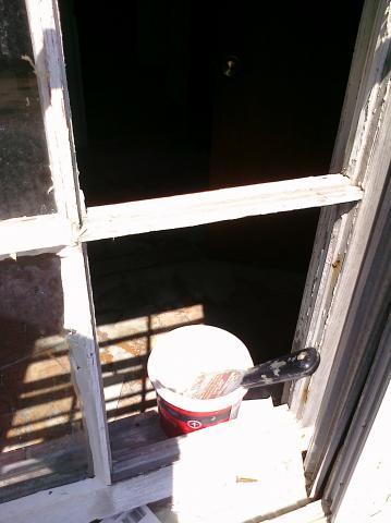 Window in progress