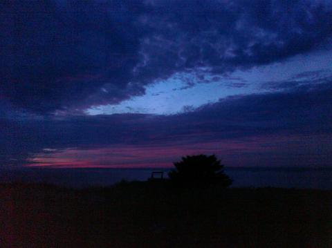 Sunset 9/29/10