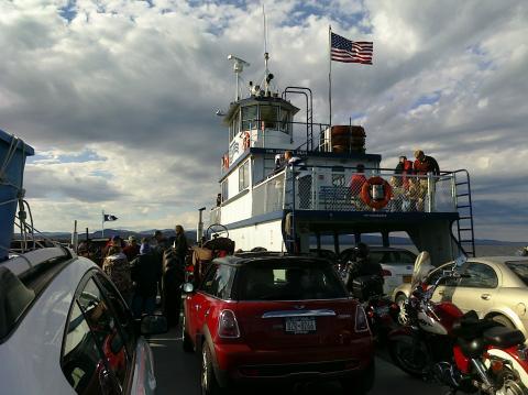 Lake Champlain Ferry