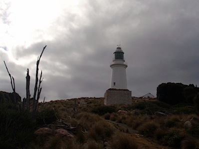 Breather view of the lighthouse
