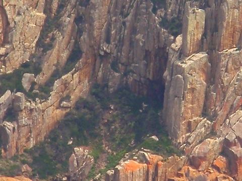Aboriginal cave