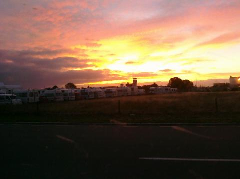 Christchurch campsite