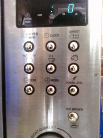 Microwave mystery